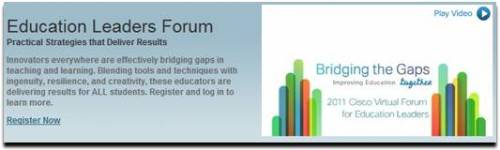 My Take on The Cisco Virtual Forum for Education Leaders